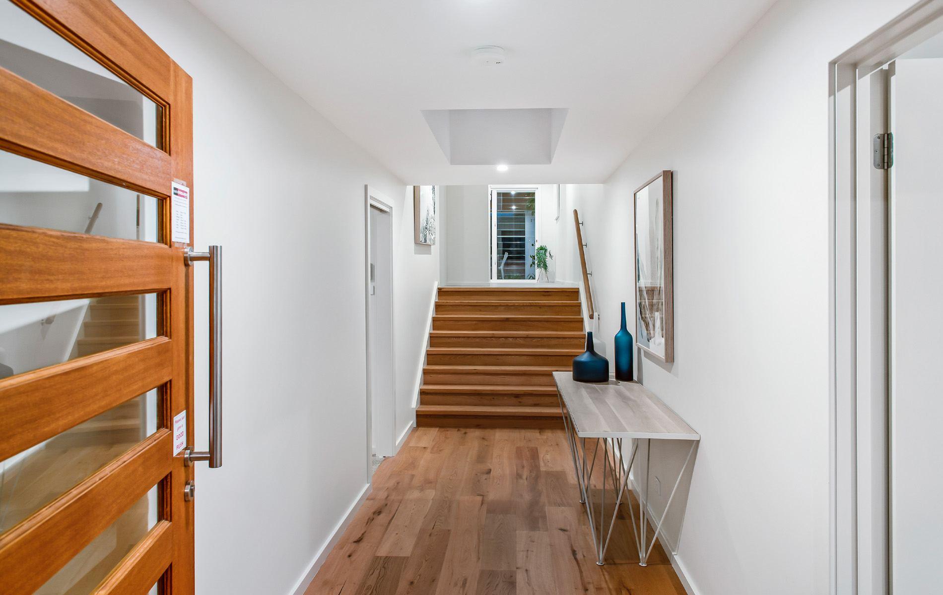 Entrance of Hunter Designer Homes Display Home