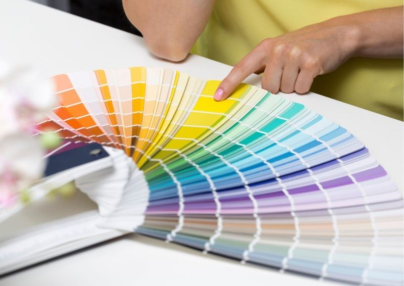 Choosing paint clours for your project Home