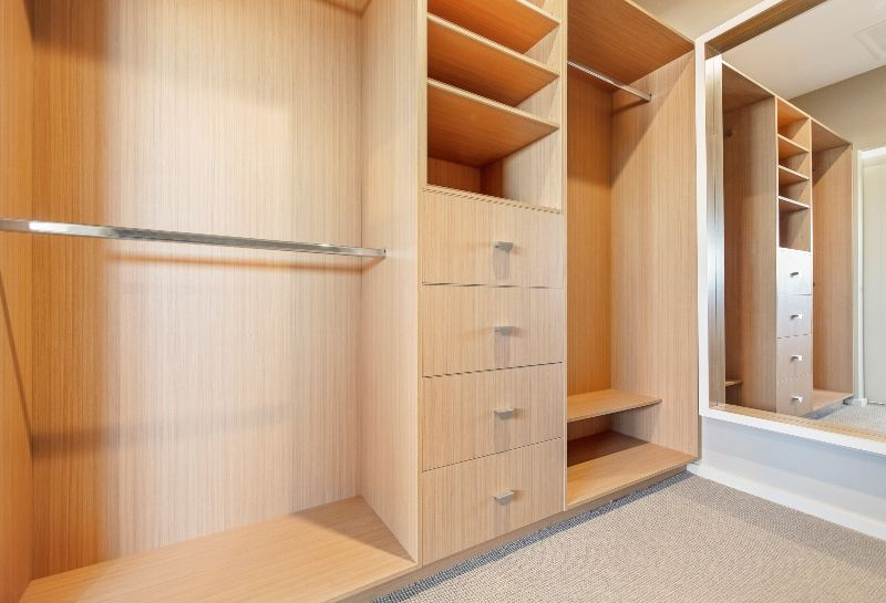 Walk in Wardrobe by Hunter Designer Homes