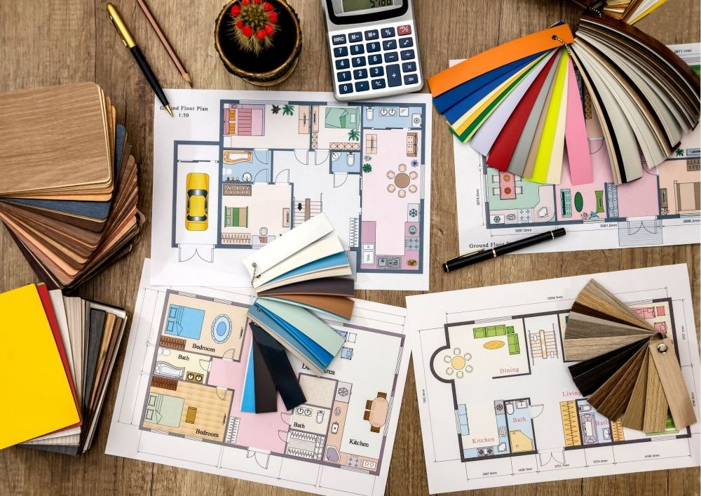 Samples for choosing the right flooring for your new project home