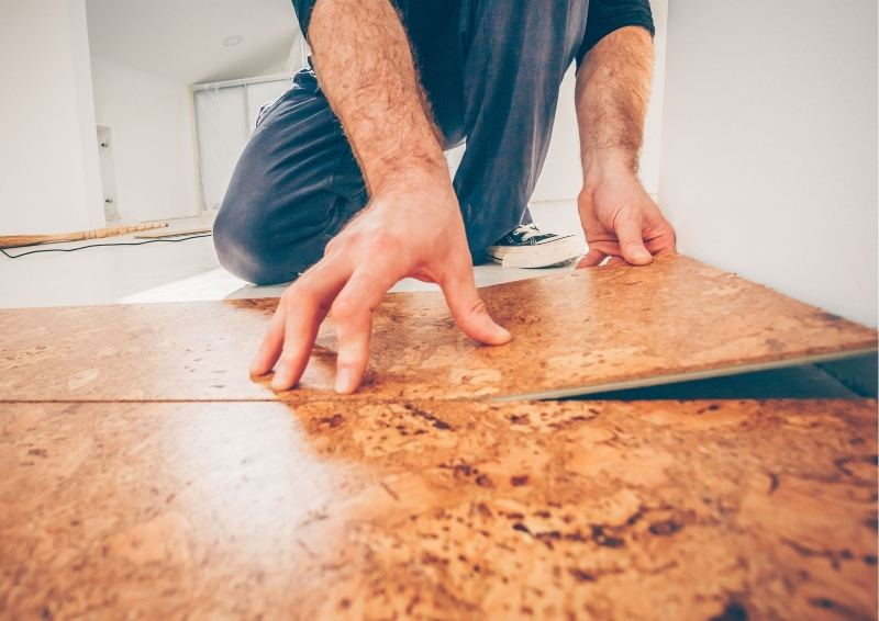 The right flooring with noise in your new project home