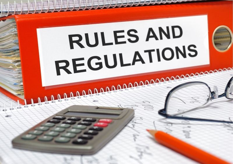 Folder of Rules and Regulations