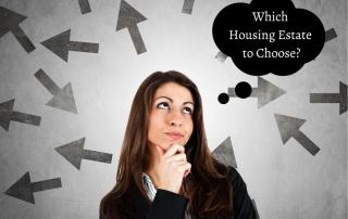 Women thinking about which housing estate is the right one to choose