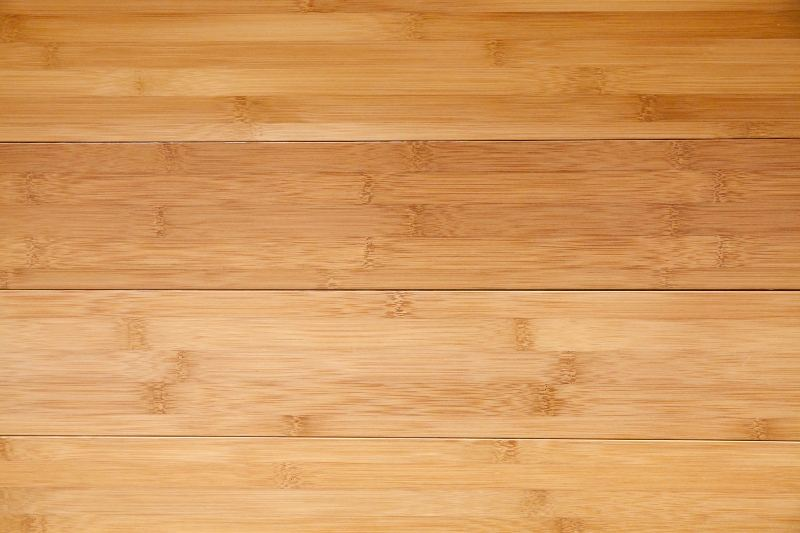 Bamboo floorboards