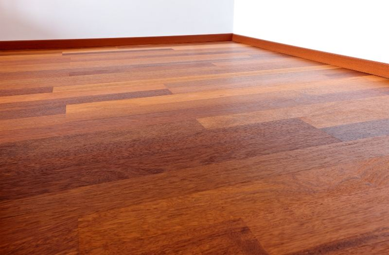 Engineered timber floorboards