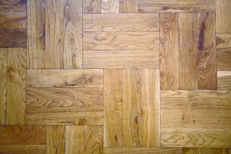 Parquet floorboards