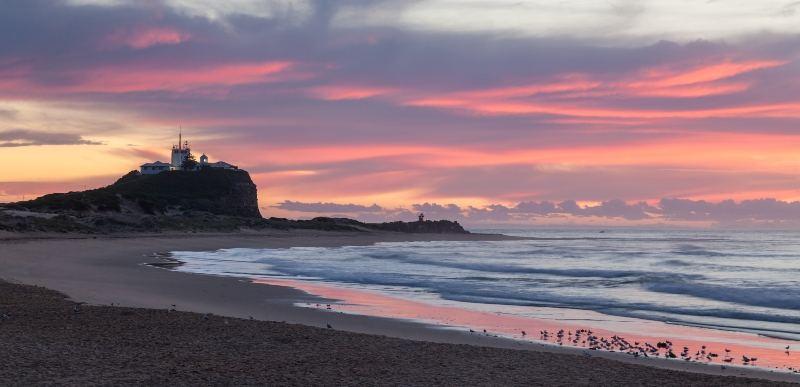 Beach at Newcastle